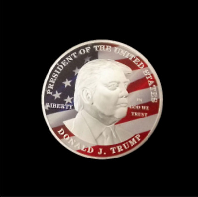 2017 President Donald Trump Inaugural Silver EAGLE Commemorative Novelty Coin