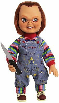 Childs Play - 15-inch - Good Guy Chucky Doll with Sound by Mezco