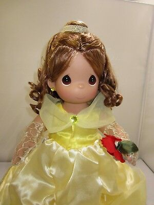 """New Precious Moments Large 18"""" Princess Beauty and the Beast Belle Disney Doll"""