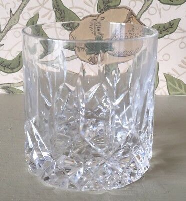 Tyrone Crystal Rosses Whiskey Tumbler Up To  4 Available