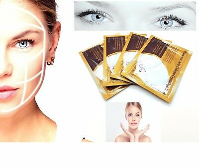 10 x Collagen Eye Mask Anti Wrinkle Ageing Crystal Eyelid Patch Pad Moisturiser