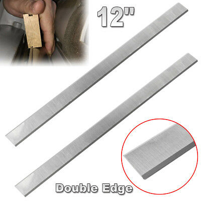 "Delta 12"" HSS Planer Blade Knife for Delta 22-540 22-547 double edged Set of 2"