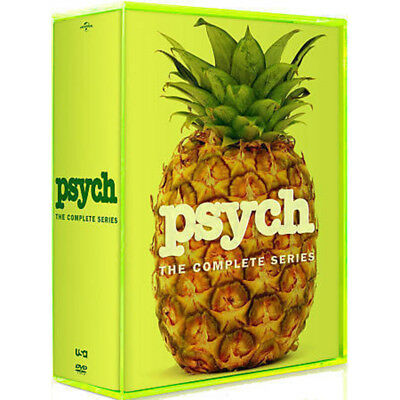 Psych: The Complete Series Season 1-8 ( DVD, 2014, 31-Disc Set)
