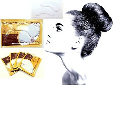 1-20 Collagen Eye Mask Anti Wrinkle Ageing Crystal Eyelid Patch Pad Moisturiser