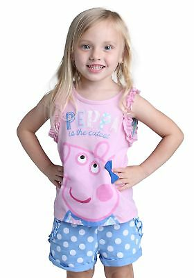 Peppa Pig Toddler Tank and Shorts Set