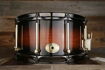 Noble & Cooley 14 X 7 SS Classic Tulip Solid Shell Snare Drum Honey Burst