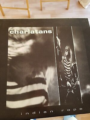 "The Charlatans - Indian Rope - Original 3 Track 12"" Vinyl from 1990"