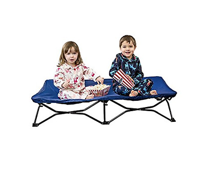 Toddler Travel Bed Cot Portable Foldable Royal Blue NEW FREE SHIPPING!