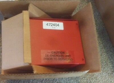 NEW ADT Security Alarm Box Control Power Transformer Red  # 472404