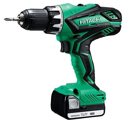 Hitachi DS14DJL-Trapano screwdriver wireless with lithium battery, 14,4 V