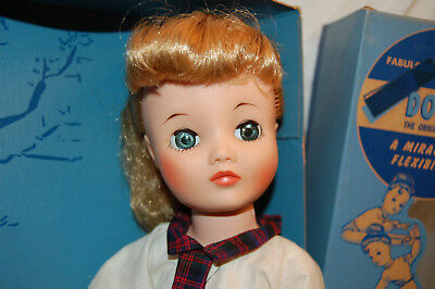 """Original Vintage DOLLIKIN by UNEEDA DOLL CO. Unplayed With in Box 20"""""""