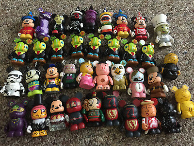 Disney Vinylmation Variety Park Urban Chaser DCL Signed - LOT OF 37