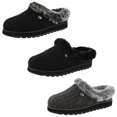 Bobs From Skechers Womens Keepsakes-Ice Angel Medium / Wide Width Slippers