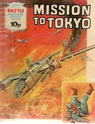 1975 No 960 33453 Battle Picture Library  MISSION TO TOKYO