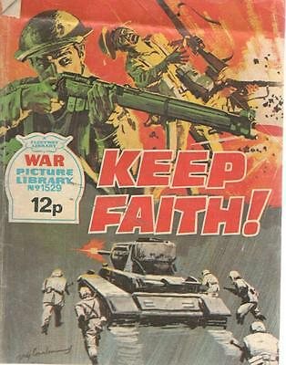 1978 1529 31671 War Picture Library  KEEP FAITH !