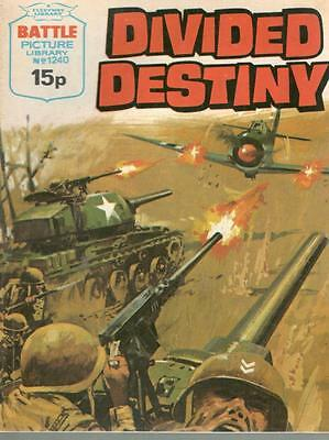 1978  No 1240 38575 Battle Picture Library  DIVIDED DESTINY