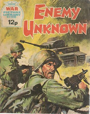 1978 1516 31666 War Picture Library  ENEMY UNKNOWN