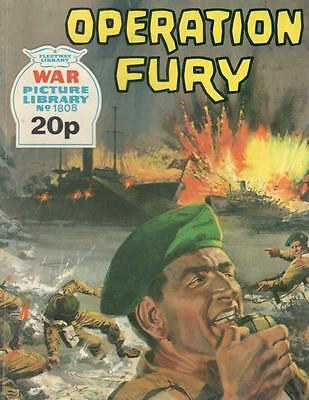 1980 1808 31833 War Picture Library  OPERATION FURY