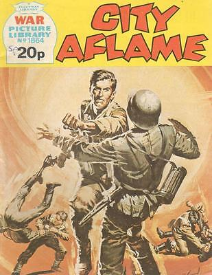 1981 1864 31920 War Picture Library  CITY AFLAME