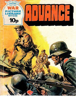 ADVANCE  No 1228 1976 49737  War Picture Library