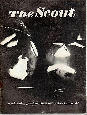 27 OCTOBER 1962 Vintage Magazine The Scout 47222
