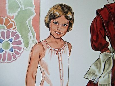 Emma Paper Doll & Wardrobe By Meehan - Uncut Card Stock
