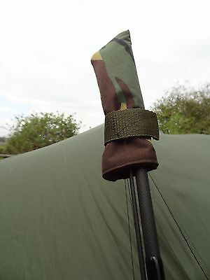 Peak angling products fishing Tip top rod protector covers  x 2 CAMO