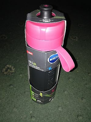 BRITA Fill and Go Water Bottle Active pink 0.6l! Brand New