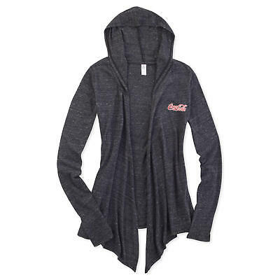 Coca-Cola  Eco-Jersey Hooded Wrap Black Large - BRAND NEW