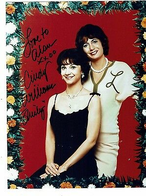 Cindy Williams American Actress Laverne & Shirley Hand signed Photograph 10 x 8
