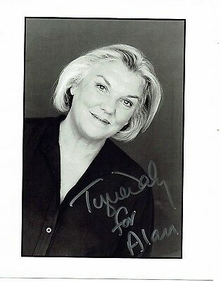 Tyne Daly American Actress Hand signed Photograph 10 x 8