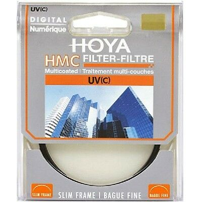 HOYA HMC UV(C) Camera Lens Filter Slim 37/40.5/43/46/49/52/58/62/67/72/77/82 mm