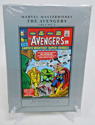 The Avengers Volume 1 Collects #1-10 Marvel Masterworks HC Hard Cover New Sealed