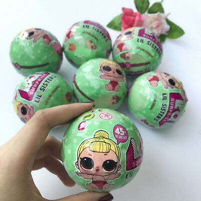 Kids LOL Lil Outrageous 7 Layers Surprise Ball Series 2 Doll Blind Mystery Ball
