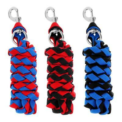 Heavy Duty Horse Riding Equestrian Lead Rope with Sturdy Clasp 2m 2.5m 3m