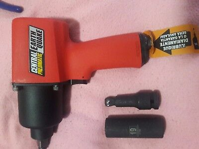 "Central-Pneumatic-68424-Earthquake-1/2"" Air-Professional-Impact-Wrench-Tool"