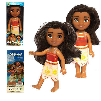 Disney Moana Princess Adventure Collection Action Figure Doll for Kids Toys 6""