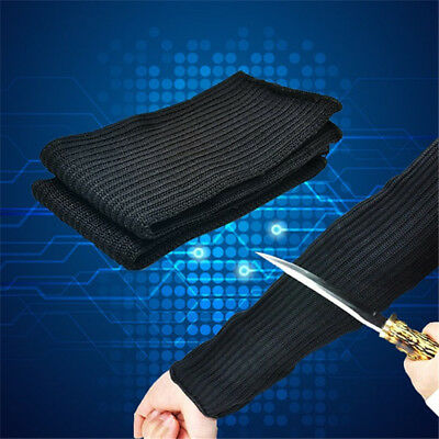 Steel Wire Anti-Cutting Breathable Work Arm Sleeve Guard Bracers Safe Protector