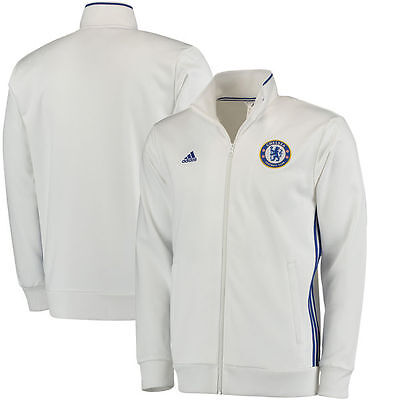 Adidas Cfc Chelsea 3-Stripes Track Top 2016-2017 White