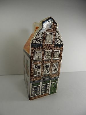 Agro Old Dutch Ceramic Miniature Canal House Hand Painted Made in Holland. #6