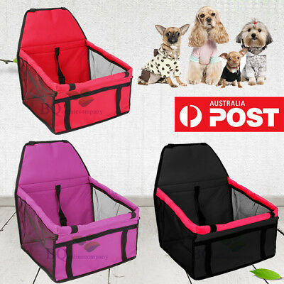 3 Color Dog Pet Car Seat Safety Travel Folding Cover Carrier Booster Large Bag