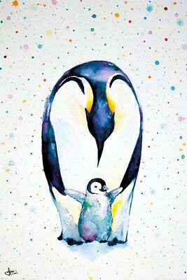 Marc Allante - Little Steps POSTER 61x91cm NEW penguin chick artwork