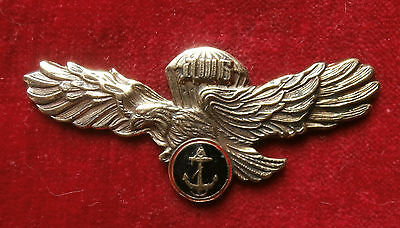 "Russian badge ""Landing and assault crew of Marines"""