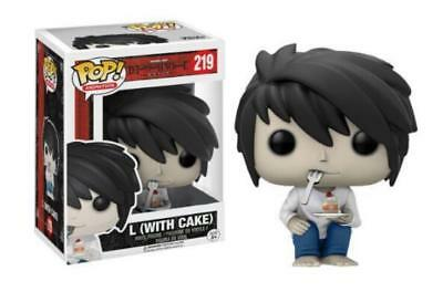 Animation POP!Death Note L(With Cake) Vinyl Action Figure 4''Toy Doll In Box