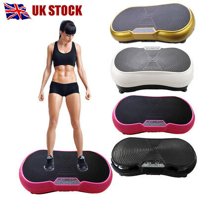 Vibration Plate Slim Exercise Body Shaper Train Massage Oscillat Fitness Machine