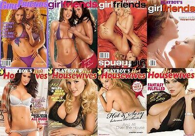 Playboy's Women Wives & Girlfriends Magazine Collection 71 Issues In PDF On DVD