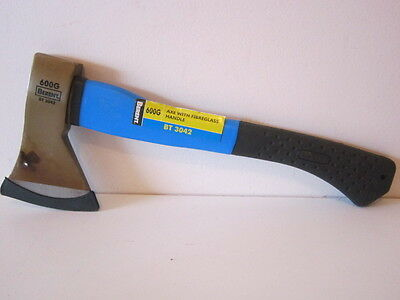 Berent Short Handle Axe. Fibreglass Handle. 600G