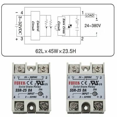 Solid State Relay Power Semiconductor Devices Switch AC/DC To The Load