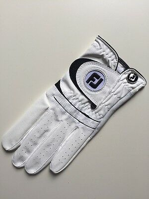 Footjoy Golf Mens Left Hand Weathersof Glove Clearance White XLarge 66241