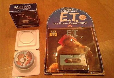 Rare Et Extra Terrestrial Retro Gift Lot Tape Book In Packaging & Soap New 1982